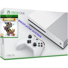 Microsoft igralna konzola XBOX ONE S 1TB in 30 iger Rare Replay