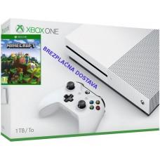 Microsoft igralna konzola XBOX ONE S 1TB in Mineraft