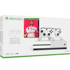 Microsoft igralna konzola XBOX ONE S 1TB 2 kontrolerja in FIFA 20