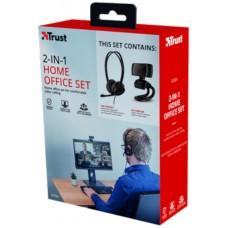 Spletni komplet Kamera in slušalke Trust Doba HD Video Webcam 720p in slušalke z mikrofon