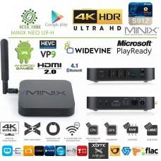 Minix Neo U9-H 4K Android Mini PC 8 jedrni UHD HDR10, 2/16GB RAM/eMMC