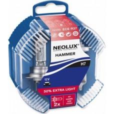 NEOLUX HAMMER avtomobilskI žarnici 2 kosa H7 12V 55W PX26d N499EL DUOBOX