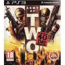 PS3 Army Of Two The 40 Days (R)