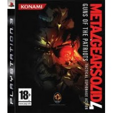 PS3 Metal Gear Solid 4 (R)