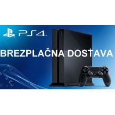 BREZPLAČNA DOSTAVA ZA VSE MODELE SONY igralnih konzol PlayStation 4