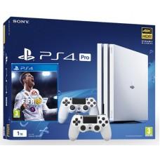 SONY igralna konzola Playstation 4 PRO BEL 1TB FIFA 18 in 2X ploščka