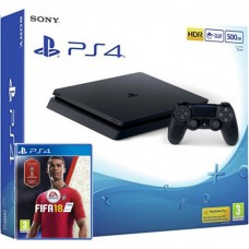 SONY igralna konzola Playstation 4 Slim in FIFA 18
