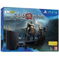 SONY igralna konzola Playstation 4 Slim 1TB in God Of War Day One Edition