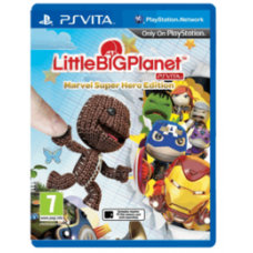 PS VITA LittleBigPlanet Marvel Super Hero Edition