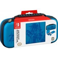 Torbica modra Deluxe za Nintendo Switch z graviranim Linkom