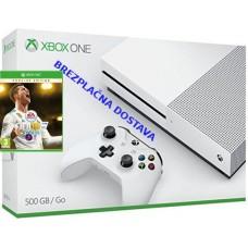 Microsoft igralna konzola XBOX ONE S 500GB in FIFA 18 Ronaldo Edition