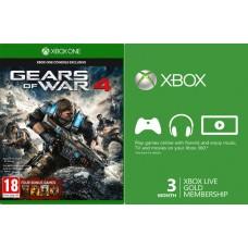 XBOX ONE Gears Of War 4 + 3 MESEČNA XBOX LIVE GOLD NAROČNINA