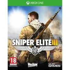 XBOX ONE Sniper Elite III