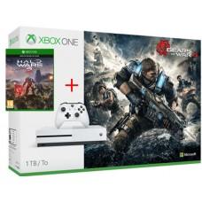 Microsoft igralna konzola XBOX ONE S 1TB Gears of War 4 in Halo Wars 2