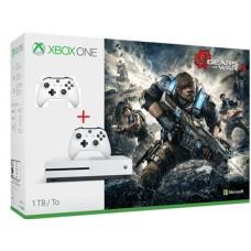 Microsoft igralna konzola XBOX ONE S 1TB Gears of War in dodatni bel Brezžični plošček